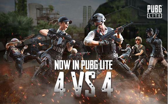 PUBG Lite เปิดศึกโหมดใหม่สุดเดือด 4 Vs 4 เอาใจสาวกนักยิง