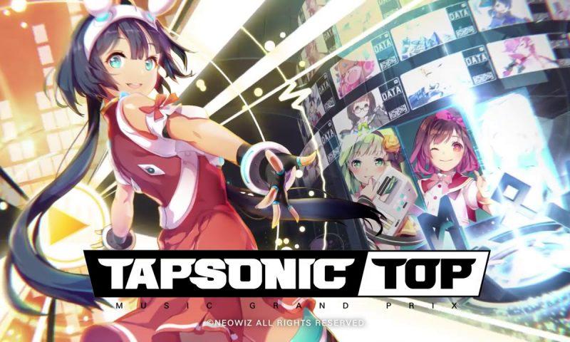 กดกันให้จอแตกไปเลย TAPSONIC TOP เกมมือถือแนวดนตรี
