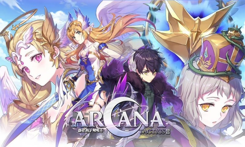 น่ารักจัด Arcana Tactics เกมมือถือแนววางแผน RPG ภาพการ์ตูนคาวาอิ
