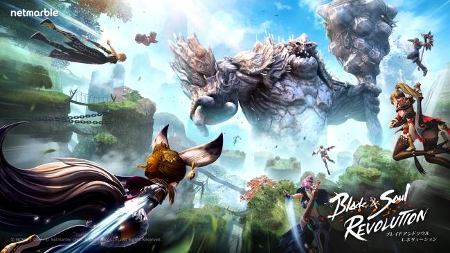 Blade & Soul: Revolution เกมแอ็คชั่นสุดมันส์เตรียมเปิดตัวที่ญี่ปุ่น