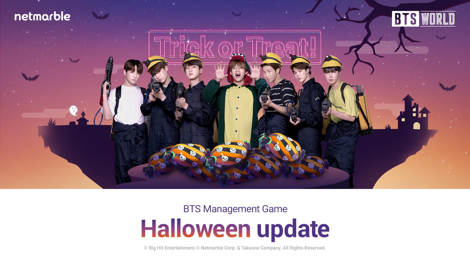 BTS WORLD Halloween Update