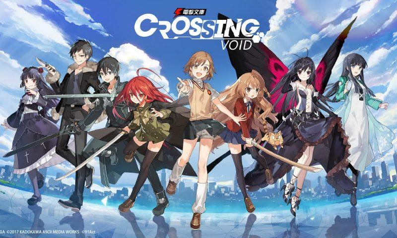 Crossing Void เกมรวมดาราโนเวลญี่ปุ่นเปิดตัวในเวอร์ชั่น Global แล้ว