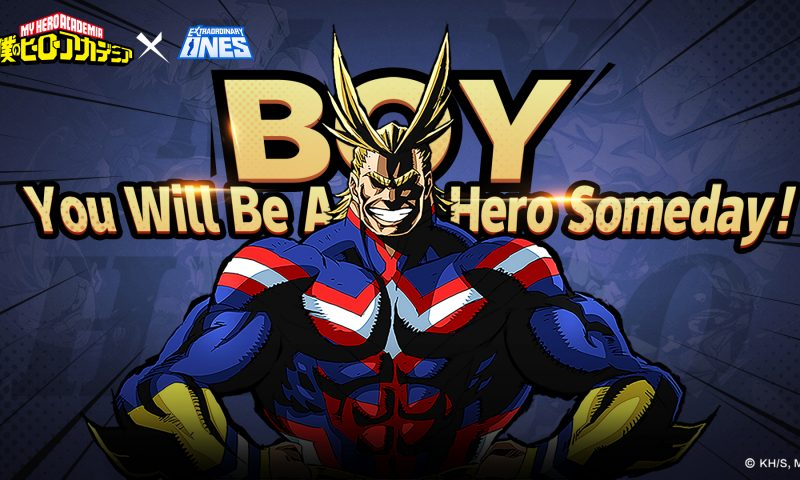 Extraordinary Ones นำฮีโร่สุดเท่จาก My Hero Academia มาร่วมแจม
