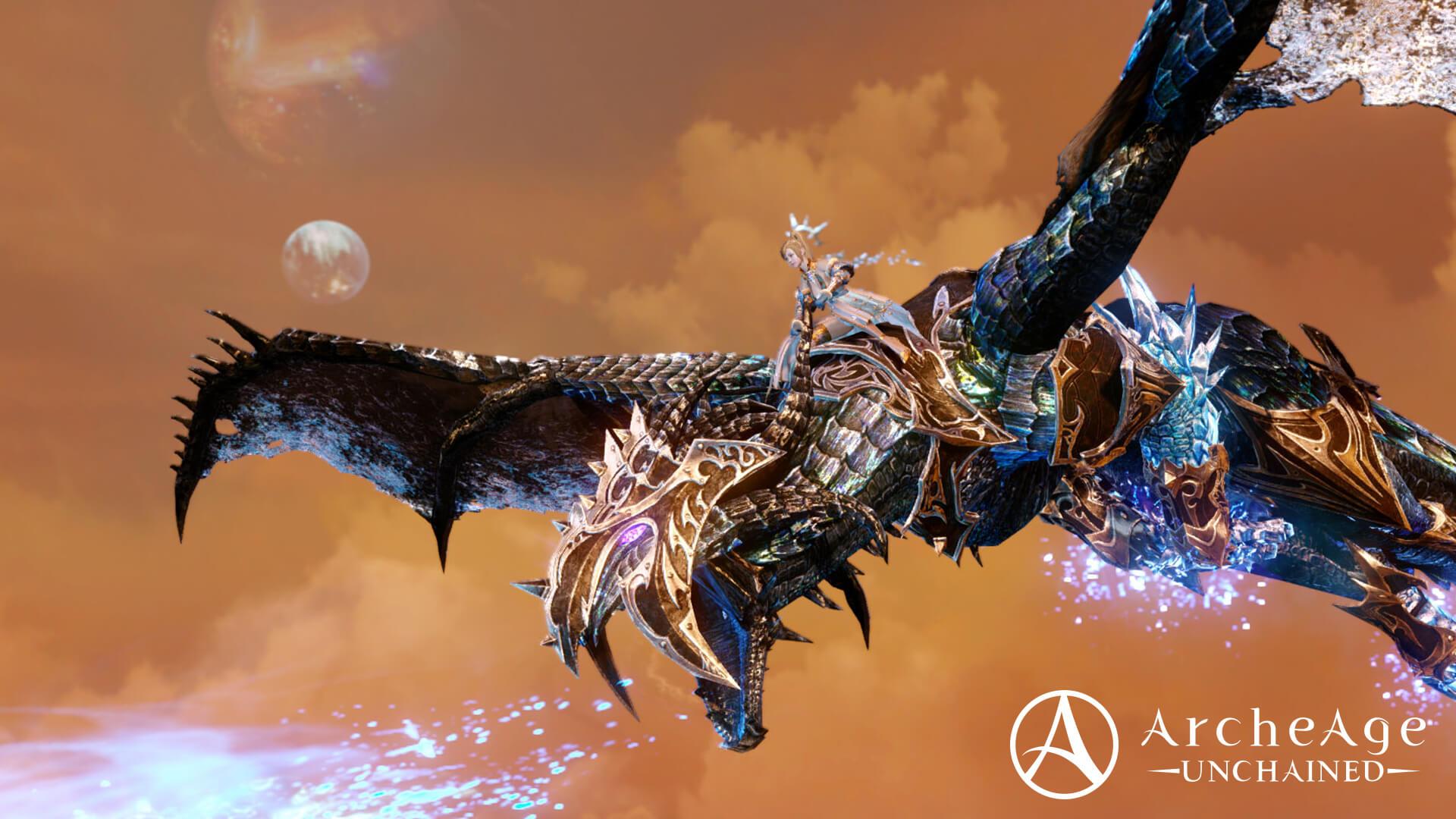 archeage screenshot dragon