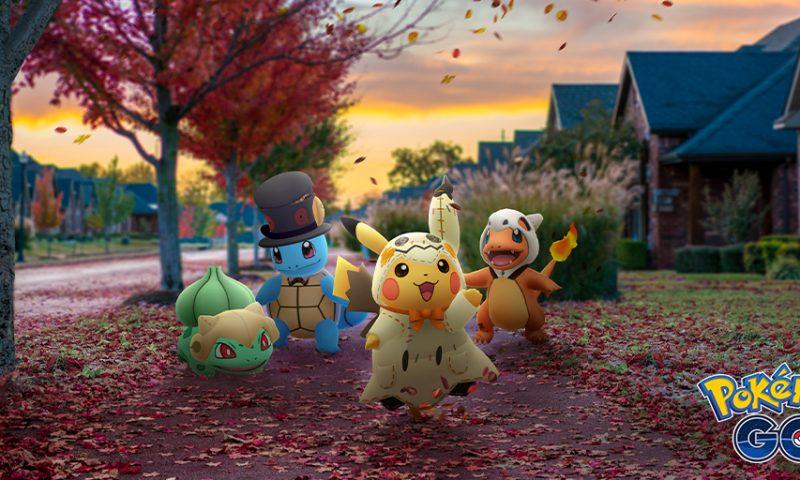 น้องน่ารัก Pokemon GO เตรียมจัด Event Halloween