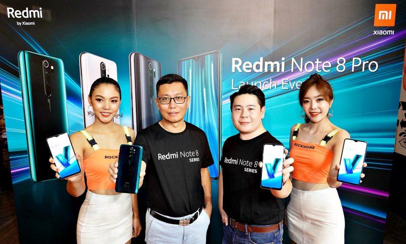 Xiaomi เปิดตัว Redmi Note 8 Series มือถือราคาประหยัดแต่คุณภาพเยี่ยม