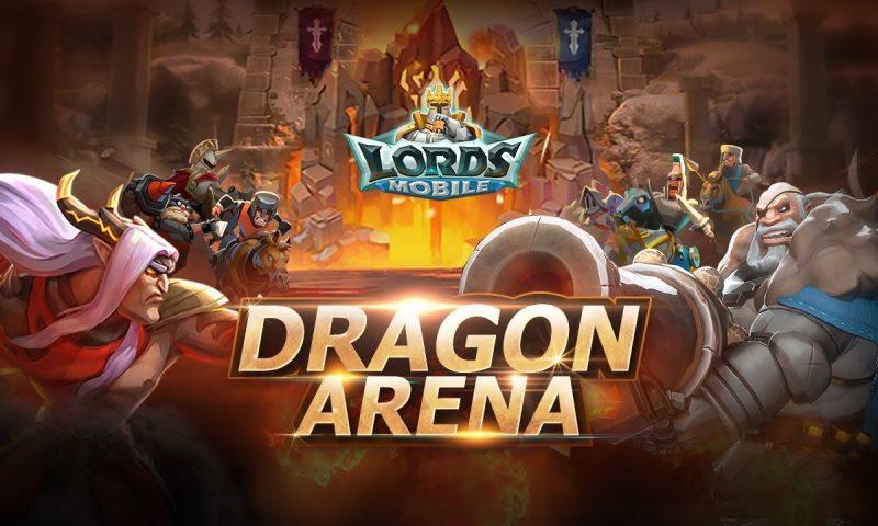 Lords Mobile เปิดกิจกรรมใหม่ Dragon Arena เล่นฟรีได้ของฟรี