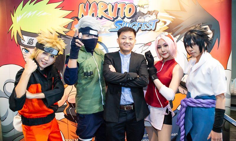 งานแถลงข่าวเปิดตัว Naruto: Slugfest สงครามโลกนินจา MMO เตรียมเปิดปีหน้า