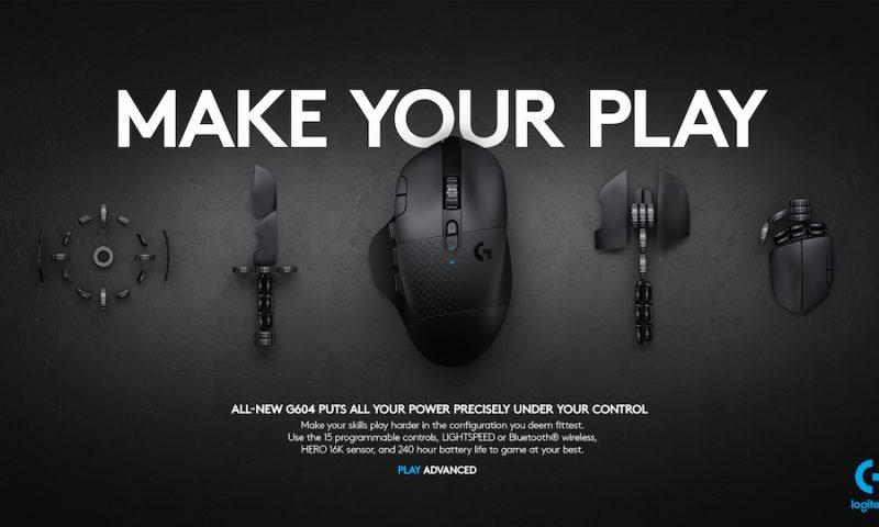 Logitech เปิดตัวเกมมิ่งเมาส์ G502, G604 และคีย์บอร์ด G913 รุ่นใหม่สำหรับเกมเมอร์