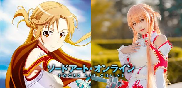 ชวนฟิน Sword Art Online คอสเพลย์ Asuna นางเอก NO.1 ขวัญใจเกมเมอร์