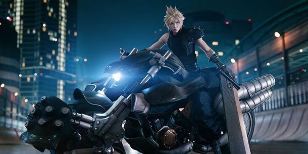 Square Enix ยั่วเก่งเผยฟิกเกอร์พี่คลาวด์ Final Fantasy 7 Remake