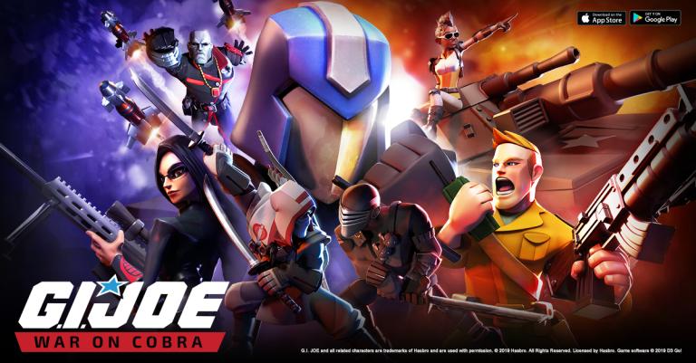 G.I. Joe: War On Cobra เกมมือถือใหม่สไตล์ Clash of Clans ไฮเทค