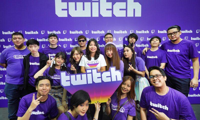 Thailand Game Expo กระทบไหล่คนดังสตรีมเมอร์ชื่้อดัง Twitch