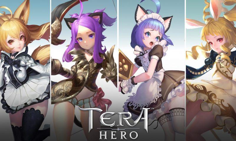 TERA Hero เกมมือถือแนว MMORPG เผยภาพตัวอย่างอาชีพ 12 ตัวสุดเท่