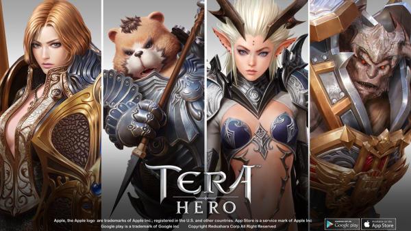 Tera Hero เกมมือถือแนว MMORPG กราฟิกอลังการเตรียมเปิดให้บริการ