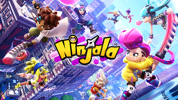 น่าเล่นมาก Ninjala เกมแนว Action ภาพการ์ตูนสุดแบ๊วมาเดือนพฤษภาคม