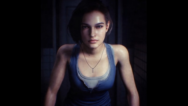 Resident Evil 3 remake เผยตัวอย่างของตัวละครหลัก Jill Valentine