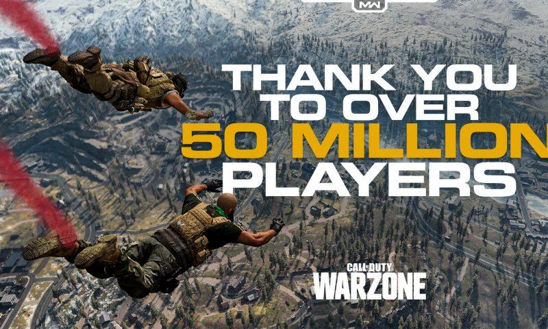 Call of Duty: Warzone ยอดผู้เล่นทะลุ 50 ล้านคนเรียบร้อยแล้ว