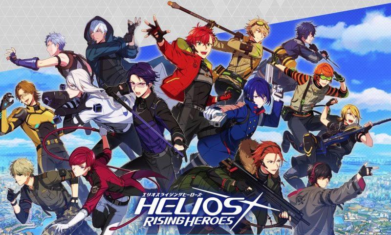เปิดให้ลงทะเบียน Helios Rising Heroes เกมมือถือ RPG จากแดนซามูไร