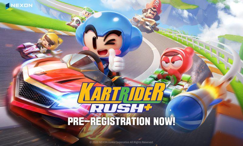 ขาซิ่งเตรียม KartRider Rush+ เปิดให้ลงทะเบียนแล้ววันนี้