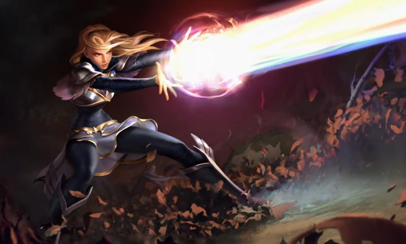 Legends of Runeterra เผยตัวอย่างเกมเพลย์ของ LUX ภายในเกม
