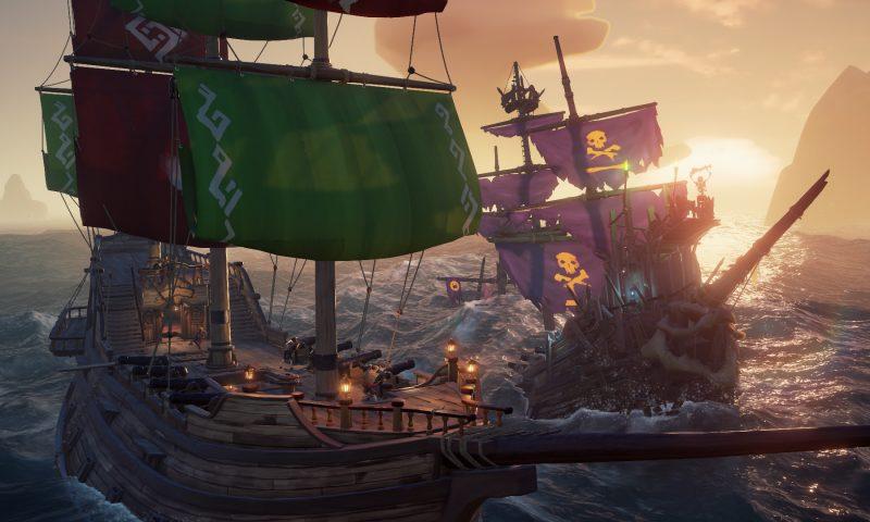 Sea of Thieves การผจญภัยในท้องทะเลกำลังมาบน PC Steam