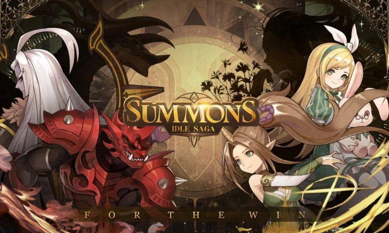 Summons: Idle Saga เกมแนว RPG แฟนตาซีเปิดตัวบนสโตร์ไทย