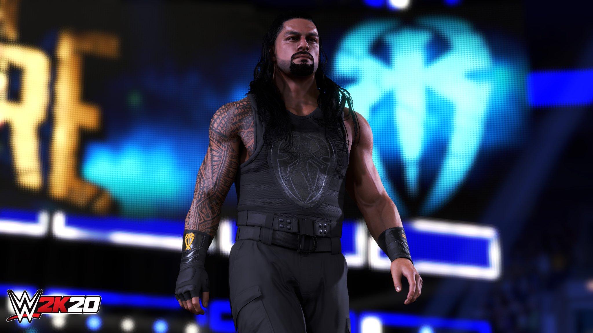 WWE 2K20 Roman