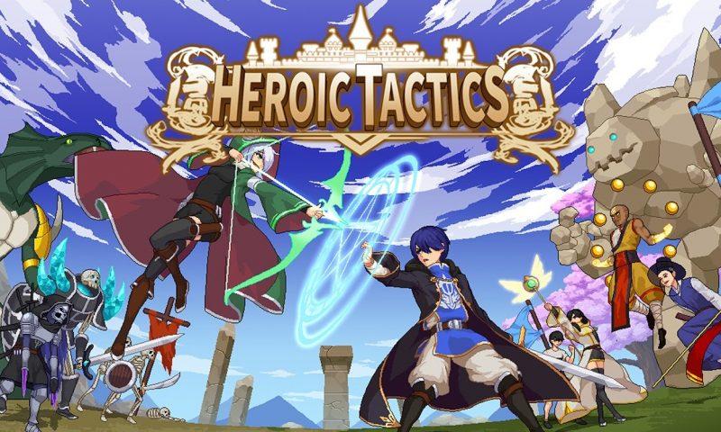 Heroic Tactics เกม RPG Pixel สไตล์อินดี้ตัวใหม่จากผู้พัฒนาชาวเกาหลี