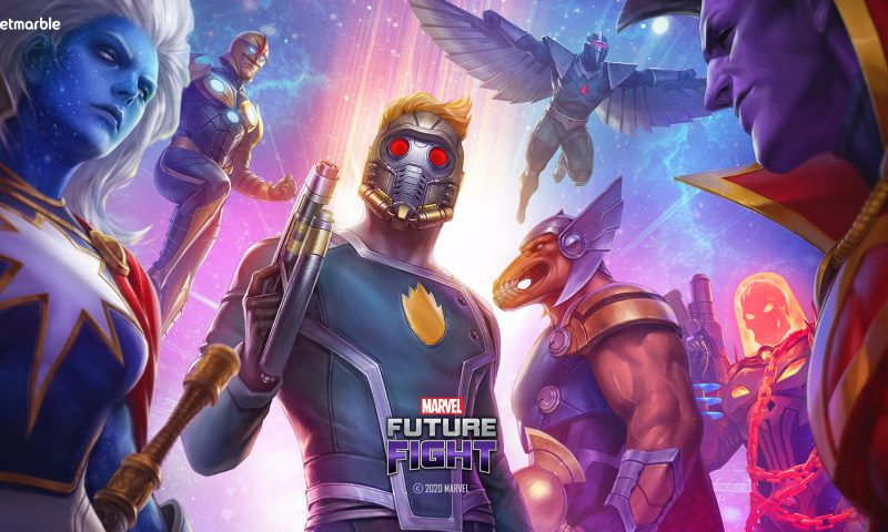 MARVEL FUTURE FIGHT อัปเดต The Guardians of the Galaxy
