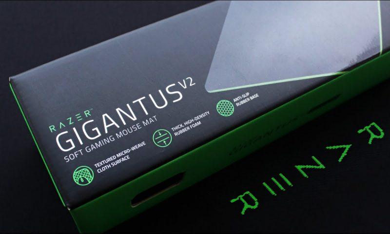 Razer โชว์ของใหม่แผ่นรองเมาส์ RAZER GIGANTUS V2