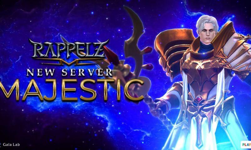 Rappelz M เปิดเซิร์ฟใหม่ MAJESTIC มันส์พร้อมกันได้แล้ววันนี้