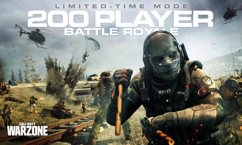 Call of Duty: Warzone Season 4 จัดเพิ่มนักโดดเป็น 200 คน