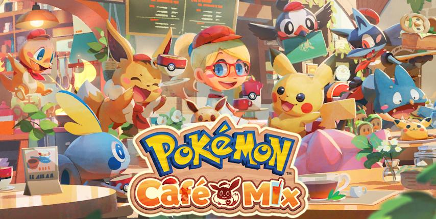 เปิดให้ลงทะเบียน PokemonCafe Mix เกมมือถือตัวใหม่ล่าสุด
