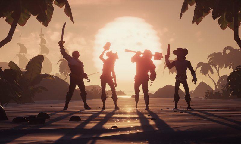 มาถูกทาง Sea of Thieves มียอดผู้เล่นเพิ่มขึ้นหลังจากเปิดตัวบน Steam