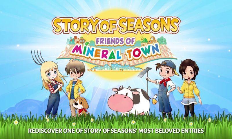 เกมปลูกผัก Story of Seasons: Friends of Mineral Town กำลังบน PC