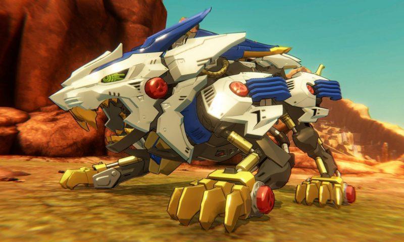 Zoids Wild หุ่นรบไดโนเสาร์กำลังพัฒนาเป็นเกมอยู่ในตอนนี้