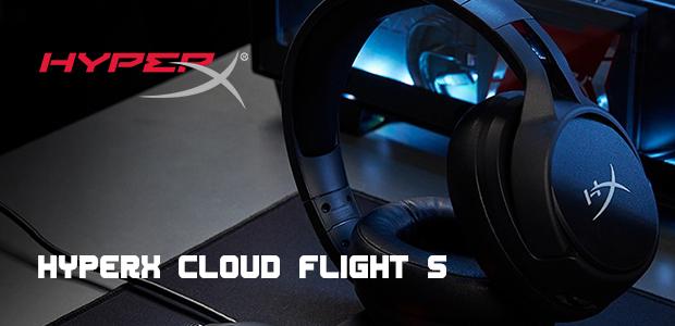 HyperX เปิดตัวหูฟังไร้สายรุ่นใหม่ Cloud Flight S รองรับชาร์จไร้สายสุดล้ำ