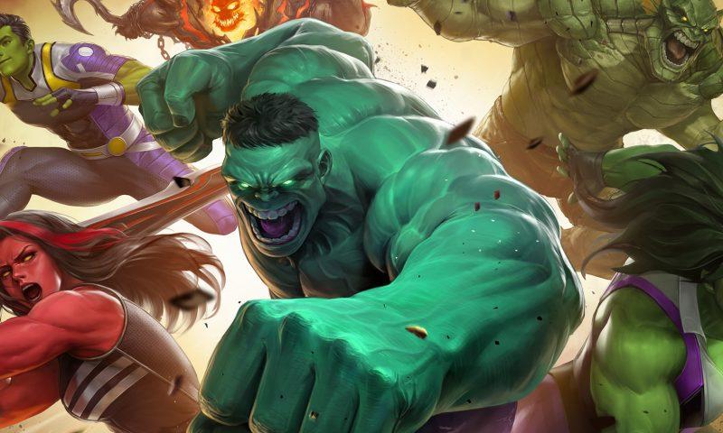 MARVEL FUTURE  FIGHT ปล่อย Hulk จอมพลังลงสู่สนามแล้ว