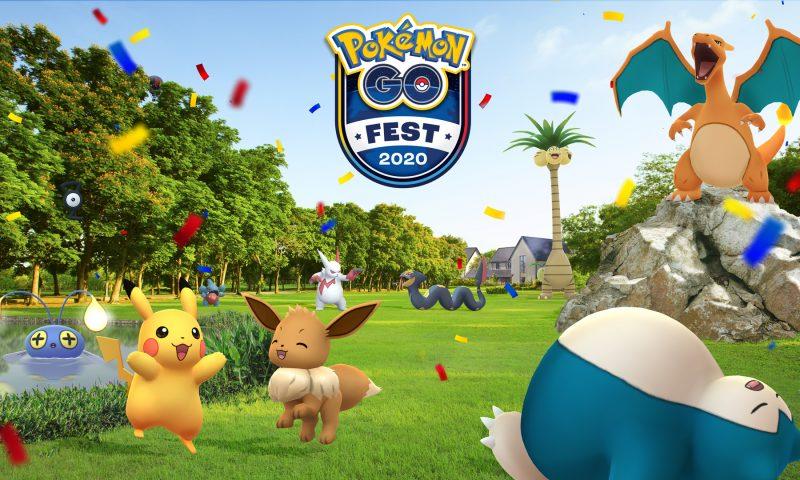 Pokémon GO Fest 2020 สัมผัสประสบการณ์ใหม่แห่งเวอร์ชวลอีเวนต์