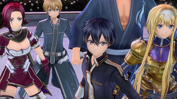 โชว์ของต่อเนื่อง Sword Art Online: Alicization Lycoris จากการ์ตูนดัง