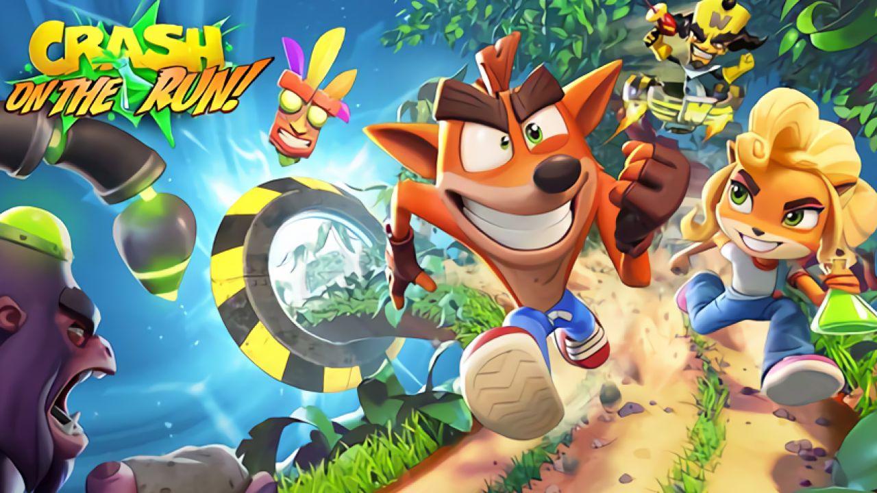 crash bandicoot on the run mobile geliyor