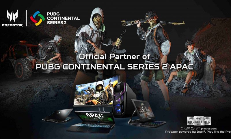 Acer ประกาศเป็นผู้สนับสนุน PUBG Continental Series 2 APAC
