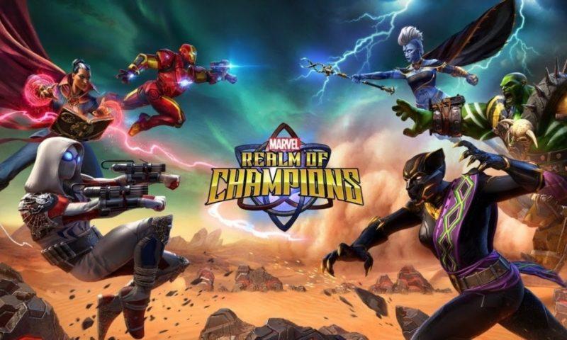 Marvel Realm of Champions ศึกซูเปอร์ฮีโร่ปล่อยตัวอย่าง Gameplay