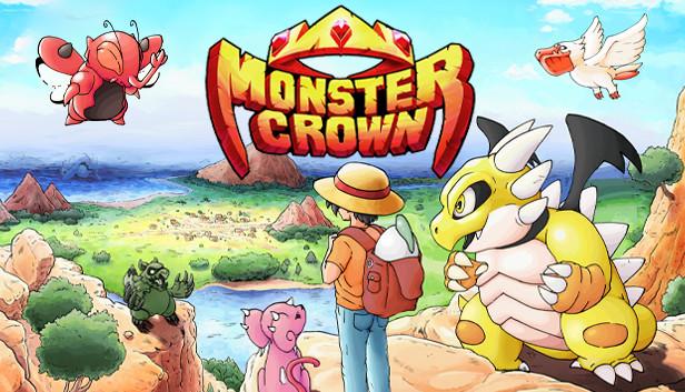 ไอหนุ่มหมวกฟาง Monster Crown เกมคล้ายโปเกมอนเปิดให้เล่นบน Steam