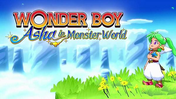 น่ารักมาก Wonder Boy: Asha in Monster World เวอร์ชั่น Remake