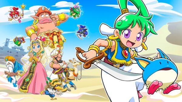 ตำนานหวนคืน Wonder Boy: Asha in Monster World ประกาศเปิดตัว