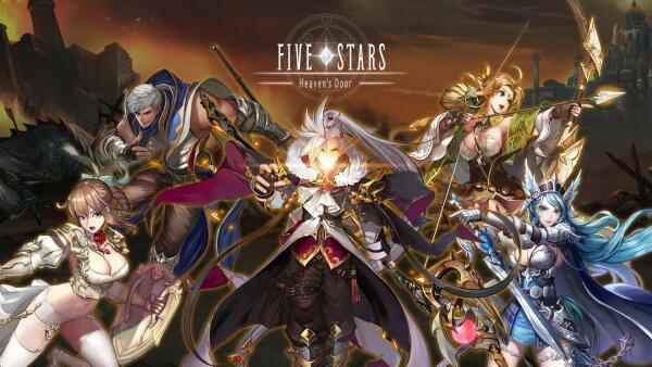 เตรียมเปิด Five Stars เกมมือถือแนว RPG สะสมตัวละครสุดแฟนตาซี