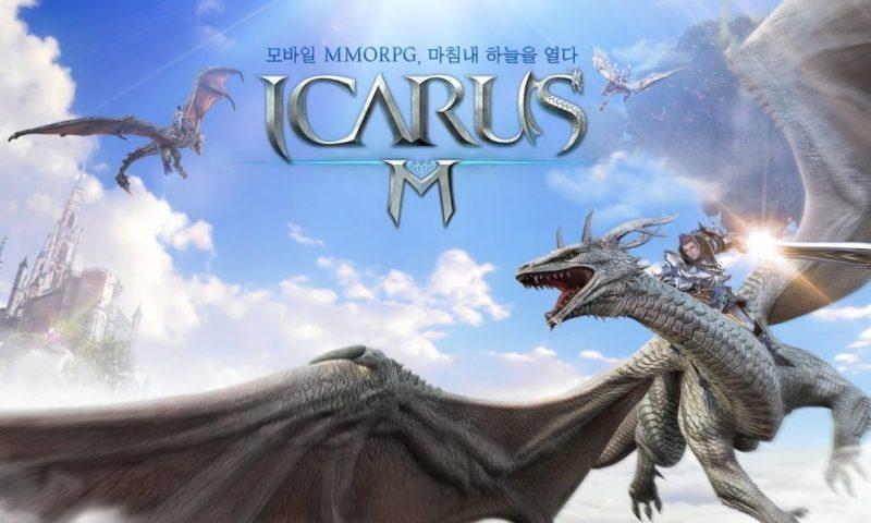 ขี่มังกรทะยานฟ้า Icarus M เกมแนว MMORPG เปิดให้ทดสอบ