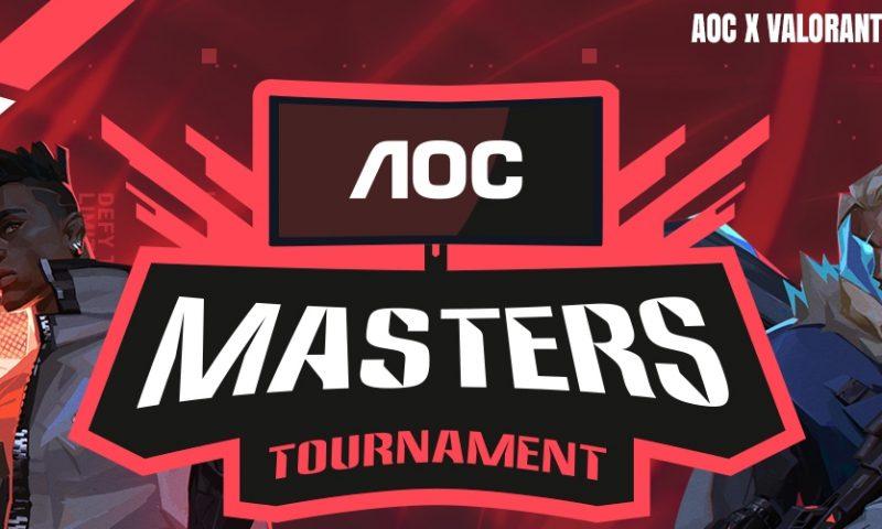 เปิดตัว AOC Masters VALORANT Tournament ท้าประลองควาแม่น